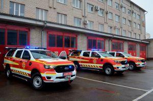 Волынь: Спасатели пересаживаются на современные спецавтомобили