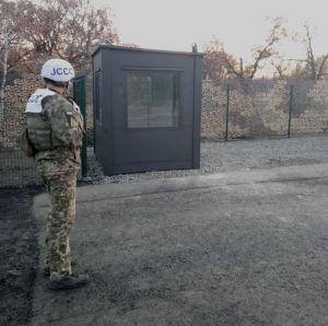 Луганщина: Завершают обустройство КПВВ