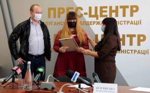 Луганщина: Семьи, лишенные войной жилья, получили квартиры