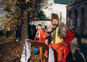 Львовщина: Воссоздали историческое событие с Богданом Хмельницким
