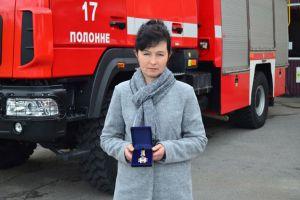Хмельнитчина: Женщина стала героем-спасителем
