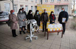 Луганщина: Апарати ШВЛ надійшли від благодійників