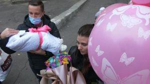 Черкассы: Родила  под больницей