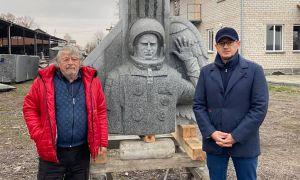 Житомирщина: Создали памятник покорителю космоса