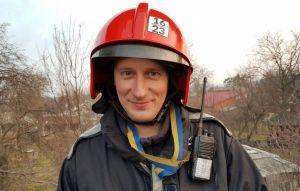 Полтава: Из пылающей квартиры спас сосед-пожарный