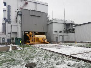 Первое топливо из Чернобыля загрузили  на длительное хранение