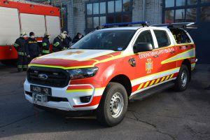 Сумщина: Спасатели получили спецавтомобили