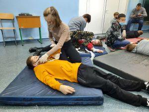Запорожье: Школьники умеют спасать