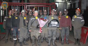 Львів: У шахтеров региона уже новый год