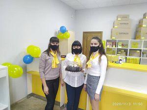 Полтава: Торт для почтовиков  подсластит будни их клиентов