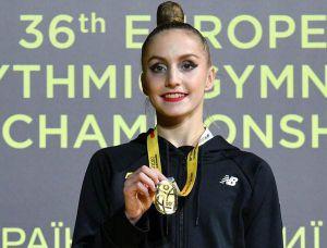 Художня гімнастика: Маємо три золоті медалі  на домашньому ЧЄ