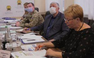 Рассмотрели проект сметы Донецкой области