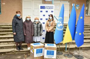 Донеччина: Кисневі концентратори передано в лікарні