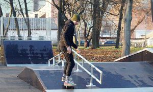 Ривненщина: В Радивилове теперь есть скейт-парк