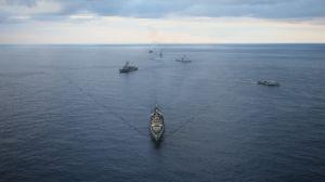 Греция провела в Средиземном море учения с ВМС Египта