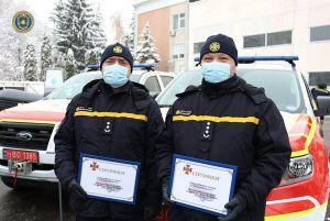 Черкасчина: Спецтехника приехала  к спасателям
