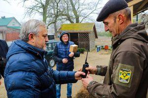 Херсонщина: Охранникам окружающей среды передали современные рации