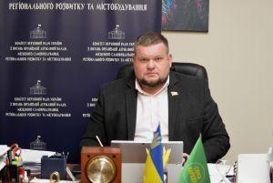Андрій Клочко під час засідання комітету у форматі відеоконференції