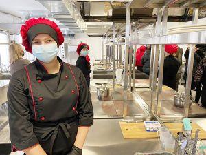 В Корце открыли учебный центр  для подготовки профессиональных поваров
