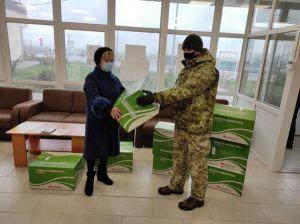 Херсонщина: Маски на КПВВ прислали благотворители