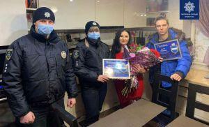Полтавщина: Поблагодарили спасателя и его родителей
