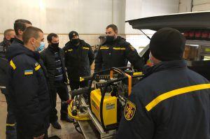 Житомирщина: Рятувальники — з сучасною спецтехнікою