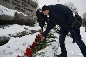 Черкассы: Юбилей Богдана Хмельницкого отметили скромно