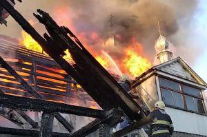 Хмельнитчина: Вспыхнул женский монастырь