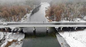 Полтавщина: Аварійний міст демонтували і спорудили новий