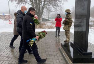 Донеччина: Ушанували жертв обстрілу автобуса поблизу Волновахи