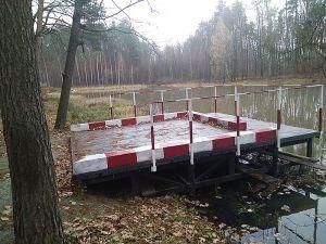 Житомирщина: Лесоводы обустраивают пожарные водоемы