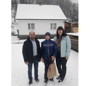 Ужгород: Подарунки дітям героїв