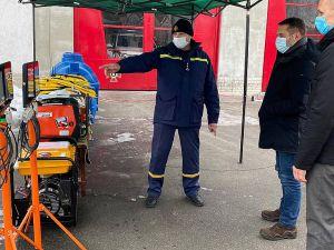 Луганщина: Вогнеборці отримали обладнання