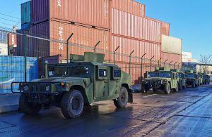 США передали Україні більш як сто одиниць військової техніки