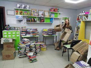 Бібліотека прифронтової Авдіївки отримала бестселери