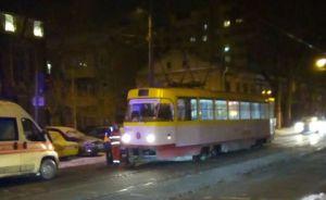 В Одесі хуліган побив водія трамвая