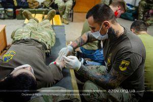 Донеччина: Спецпризначенці здобували навички із гемотрансфузії