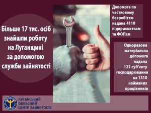 Луганщина: Помогли найти работу