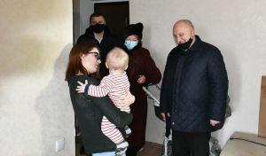 Житомирщина: Получили ключи от жилья, о котором мечтали