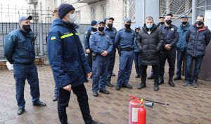 Донетчина: Судебные охранники провели учения