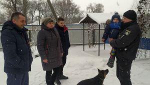 Полтавщина: Поліцейський урятував родину
