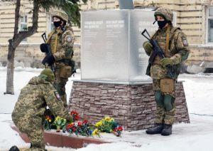 Донетчина: Участники памятных мероприятий почтили погибших