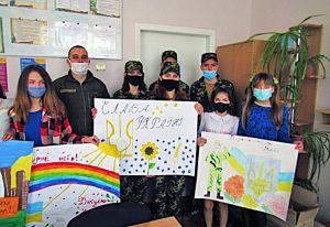 Луганщина: Гвардійців та учнів поєднала дружба
