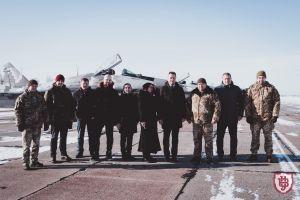 Луцк: Университет будет сотрудничать с военными летчиками