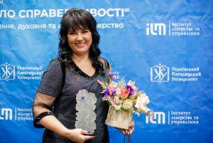 Луганщина: Лікарка стала лауреатом нагороди «Світло Справедливості»