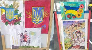Житомирщина: Символ государства — на детских рисунках