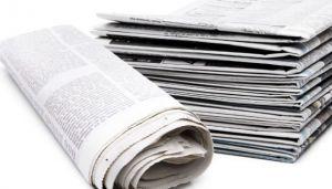 Выписали газету, получают бумагу