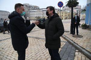 Габріелюс Ландсбергіс: «Ми повинні зробити кроки, щоб притягнути Росію до відповідальності»