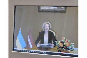Мы благодарны Латвии за постоянную позицию в отношении нашей территориальной целостности