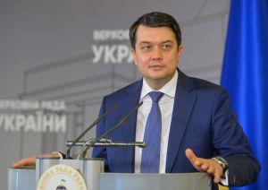 Дмитрий Разумков: Пленарная неделя станет насыщенной